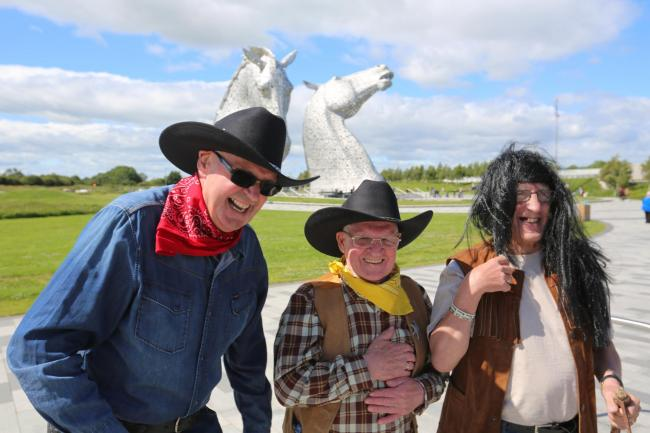 The Falkirk Cowboys, legends and filmmakers, ride again