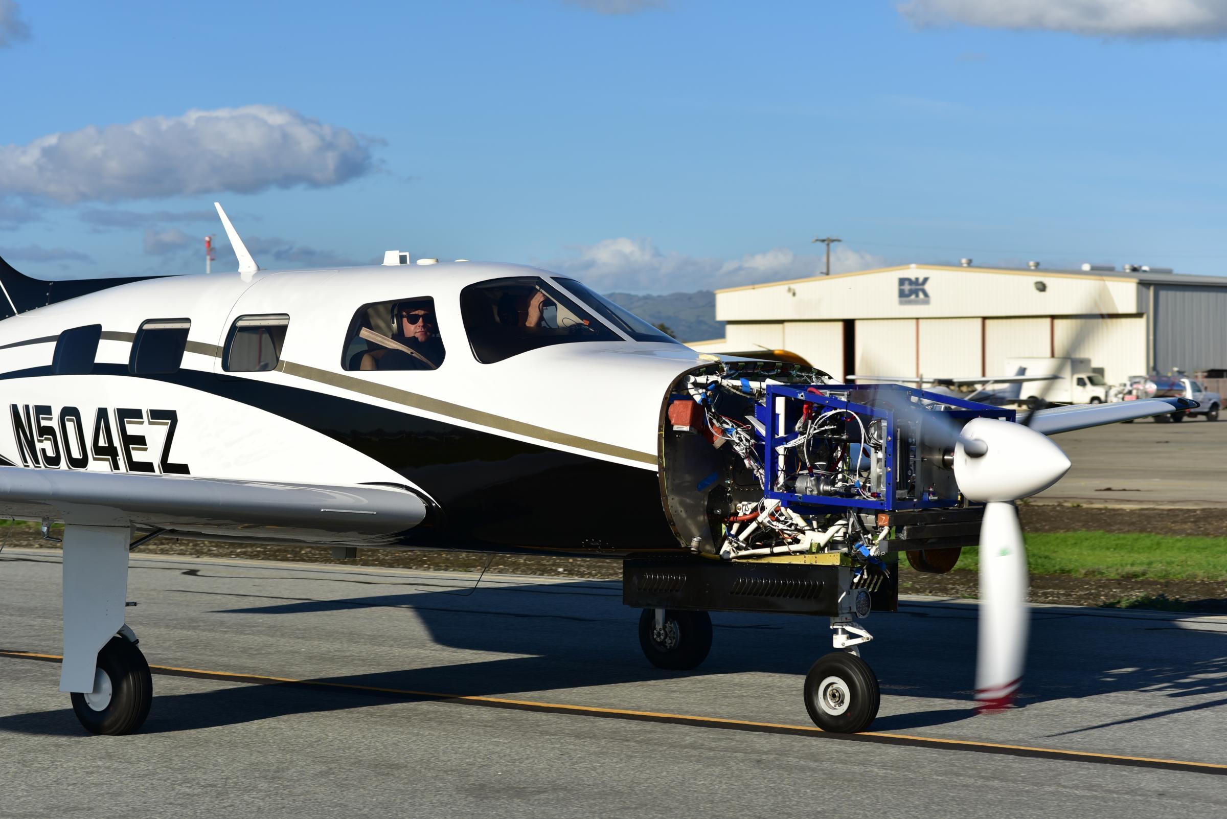 World's largest zero emission hydrogen flight test in Scotland