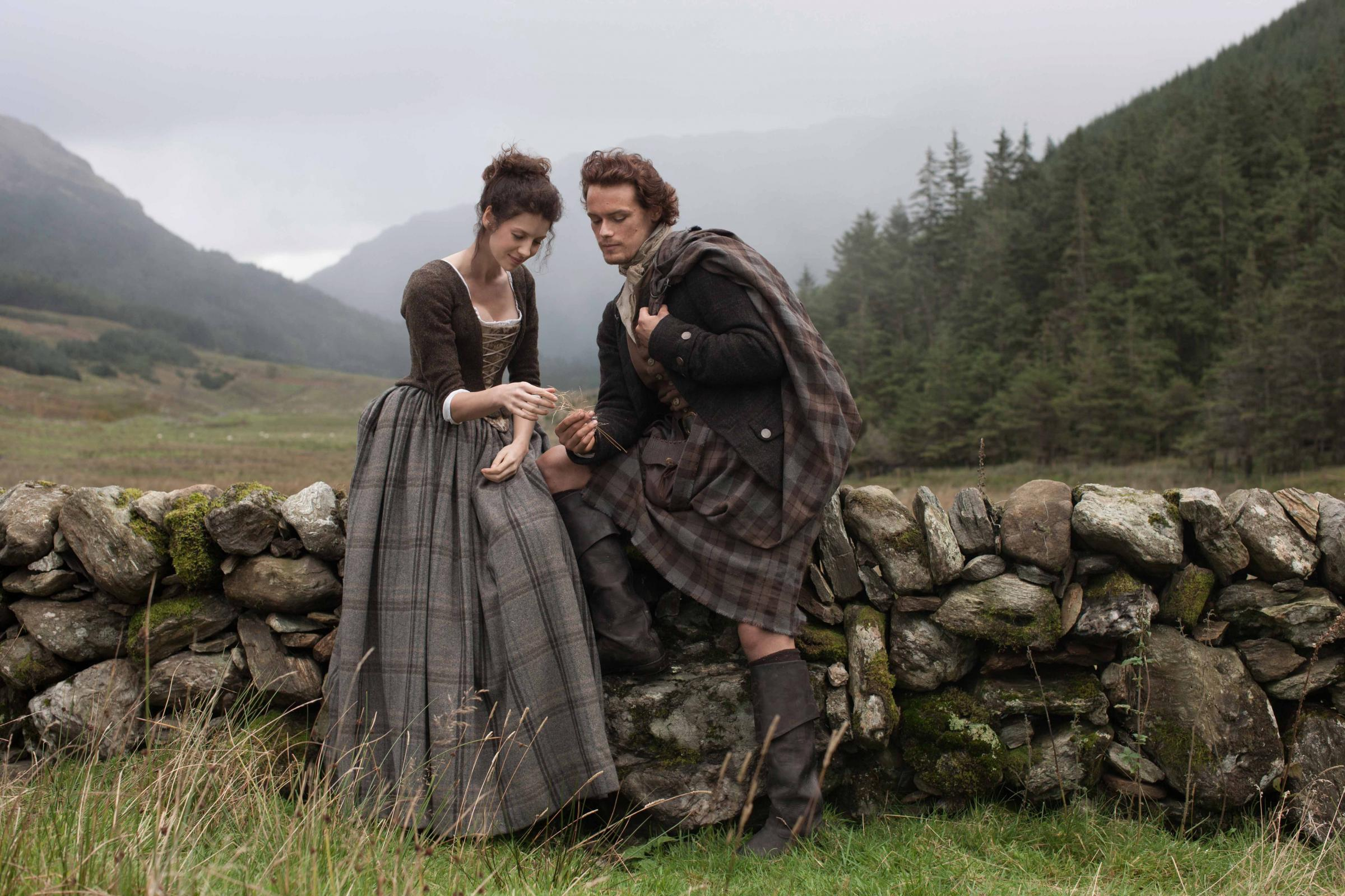 Call for Outlander fans to treat film sites respectfully