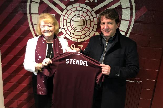 Watch: Inside Daniel Stendel's first day as Hearts manager as he meets players and takes training session