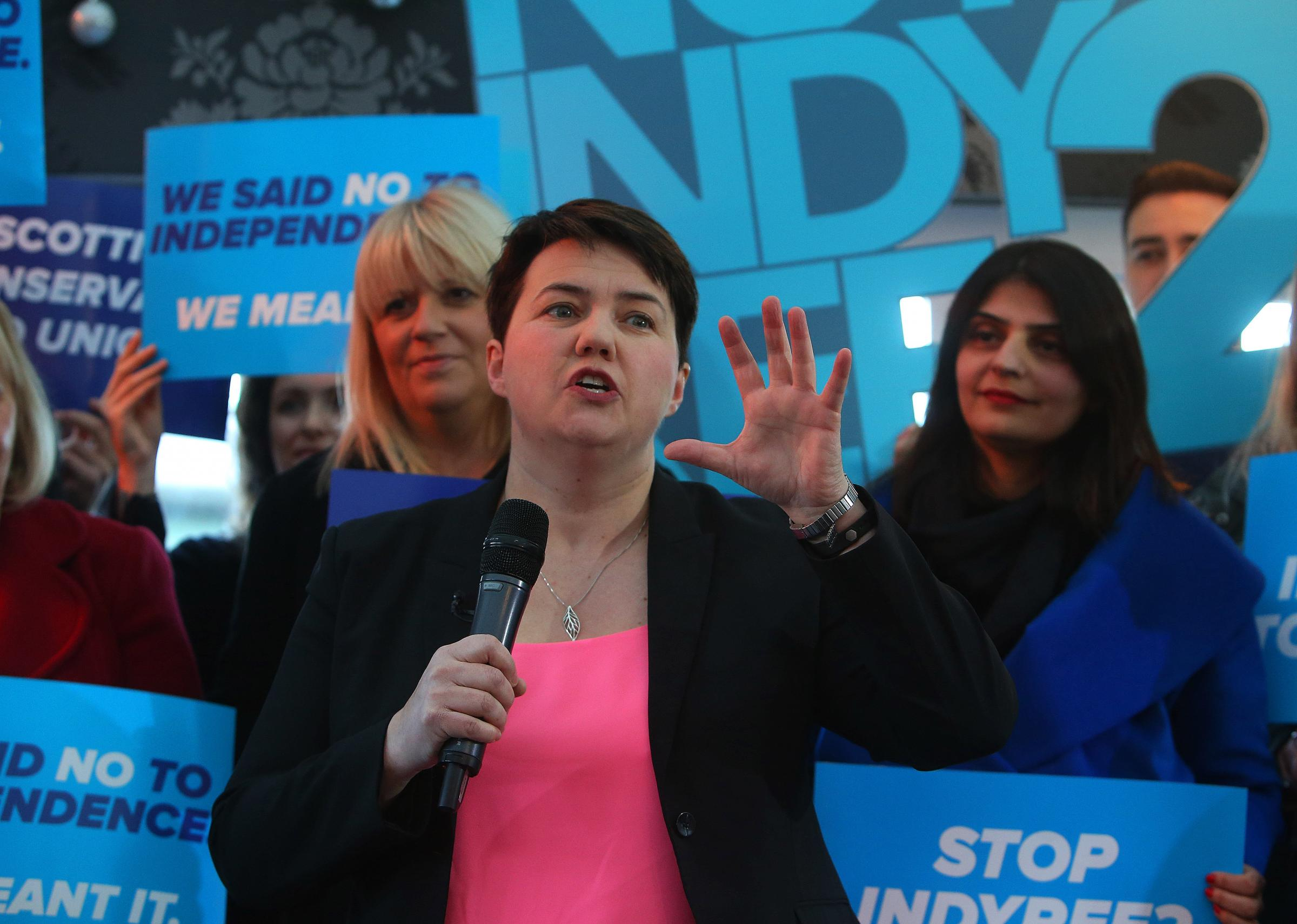 Ruth Davidson: voters now call Nicola Sturgeon 'that f***ing woman'