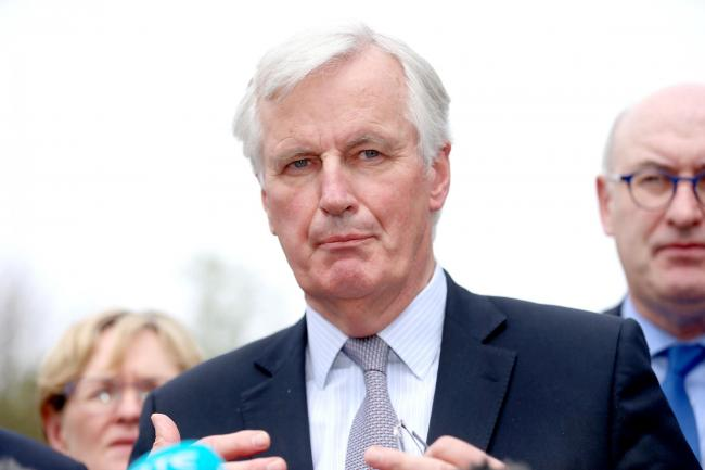 File photo dated 12/5/2017 of EU Chief Brexit negotiator Michel Barnier who has slapped down Boris Johnson over his claim that Brussels could
