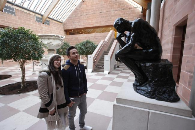 Controversial roving Burrell collection proves to be a hit
