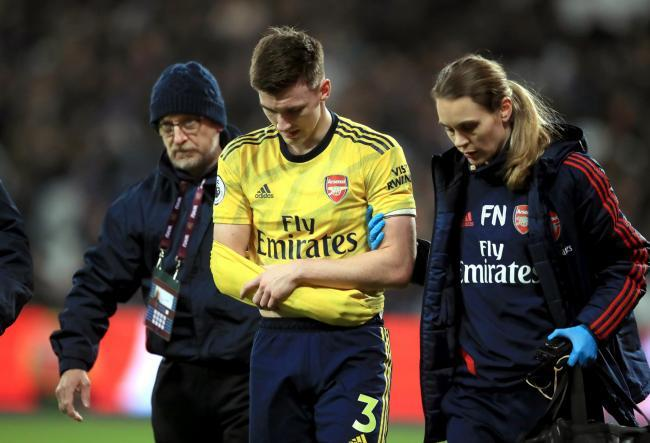 Kieran Tierney faces race against time to be fit for Scotland vs Israel as Arsenal confirm injury latest