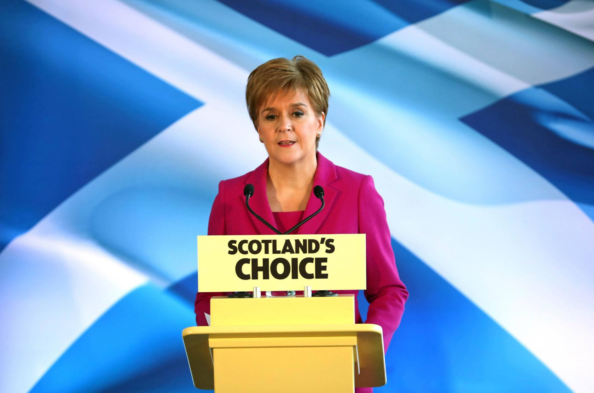 Independence referendum could 'absolutely' happen this year, says Nicola Sturgeon