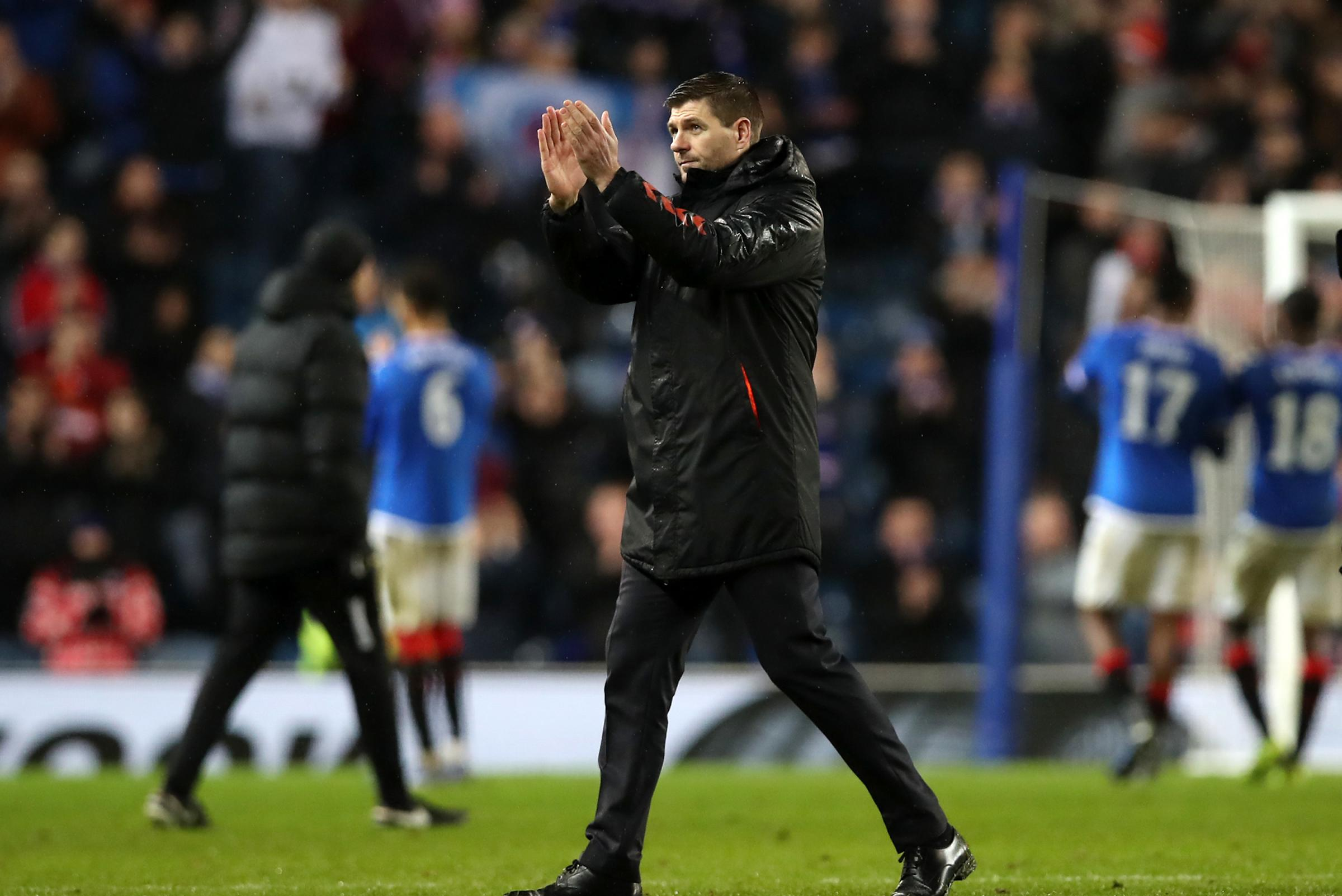 Steven Gerrard determined to repay Rangers fans with silverware after clinching new Ibrox deal