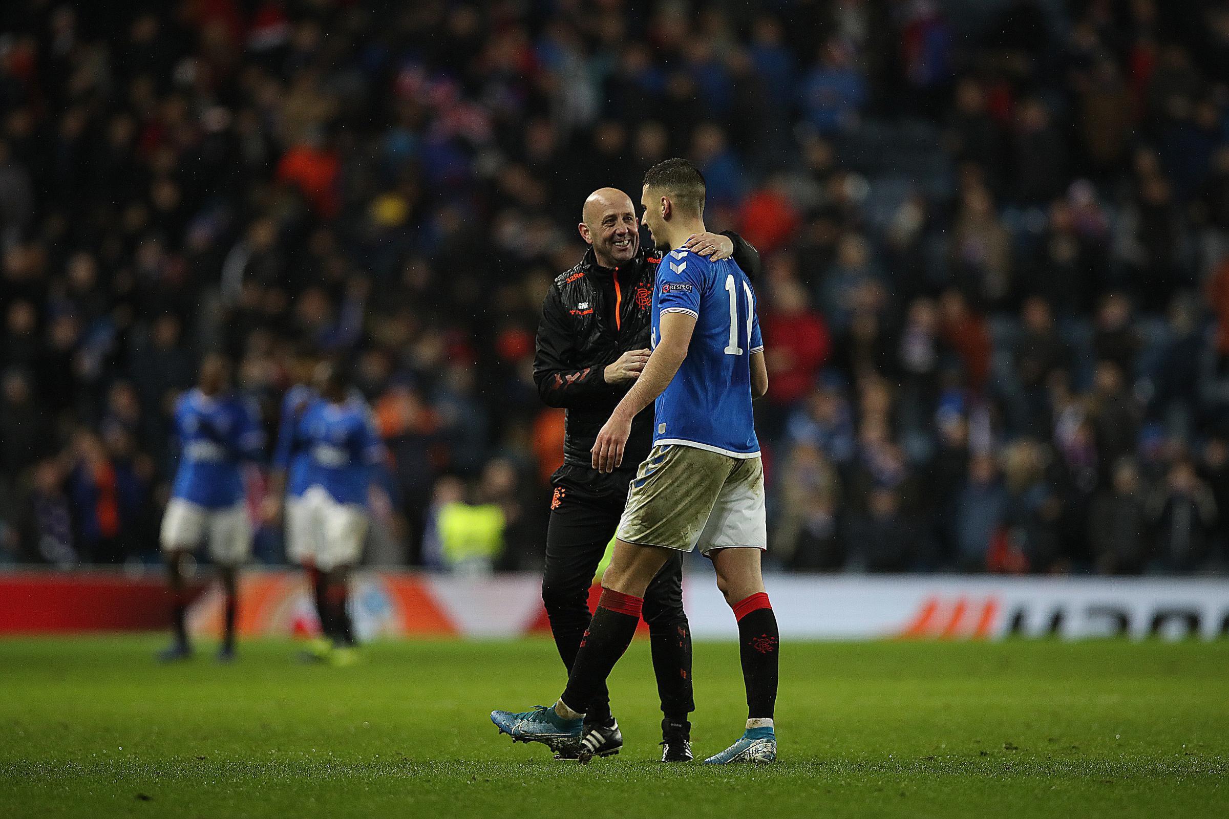 Nikola Katic fancies Rangers' chances against Manchester United as Steven Gerrard's side await Europa League draw