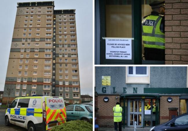 Man charged with Motherwell polling station bomb hoax