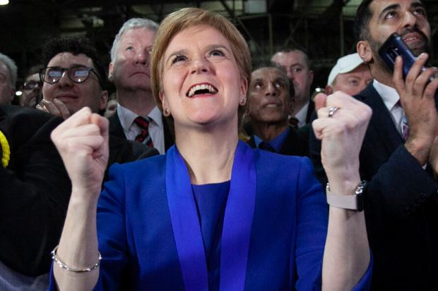 It was a good night for Nicola Sturgeon and the SNP.