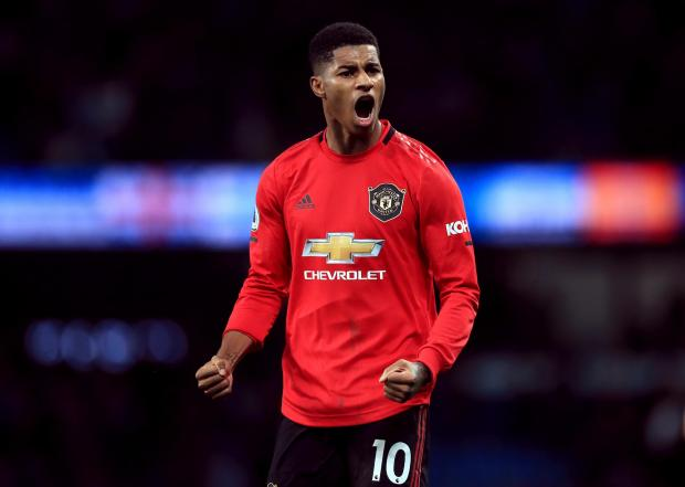 HeraldScotland: Rashford is beginning to hit the heights