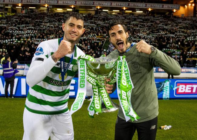 Nir Bitton (left) is delighted to have committed his future to Celtic.