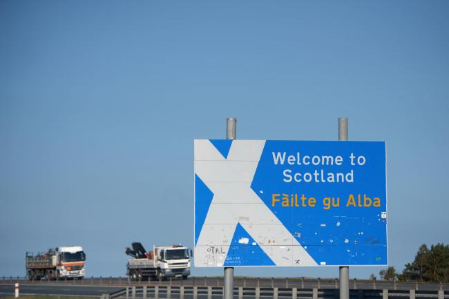 More than 10,000 back petition calling for Scotland's border with England to be closed