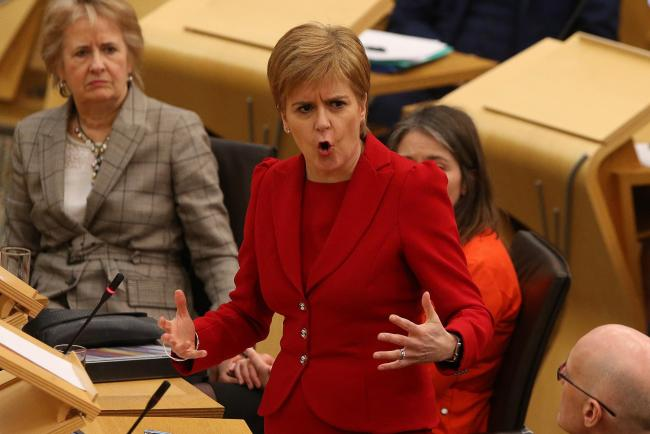 First Minister's statement at Holyrood tuesday. STY . Pic Gordon Terris/The Herald.17/12/19.
