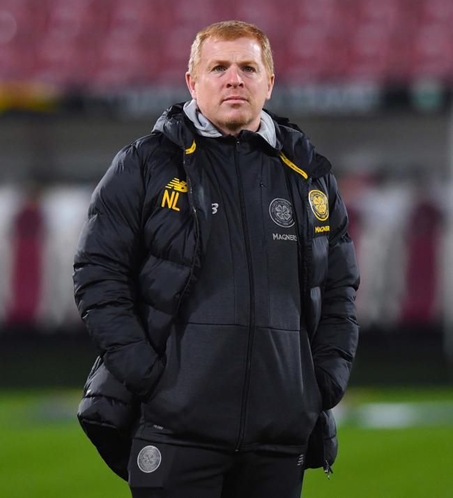 CLUJ, ROMANIA - DECEMBER 12: Celtic manager Neil Lennon is pictured ahead of the UEFA Europa League Group E match between CFR Cluj and Celtic, on December 12, 2019, in Cluj, Romania. (Photo by Paul Devlin / SNS Group).