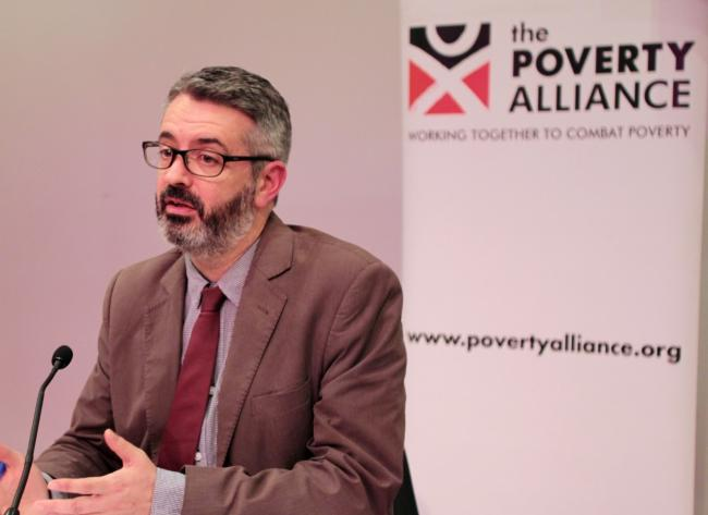 Peter Kelly, The Poverty Alliance