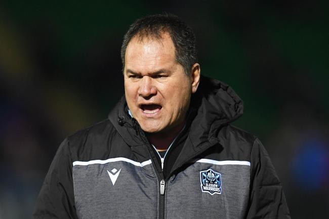 Glasgow Warriors head coach Dave Rennie. (Photo by Ross Parker / SNS Group).