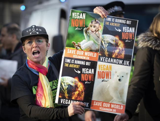Veganism is likely to feature more prominently in the climate debate. Picture: Danny Lawson/PA Wire.