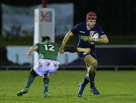 Jack Blain in action for Scotland U20s in 2019 (SNS-Scottish Rugby)