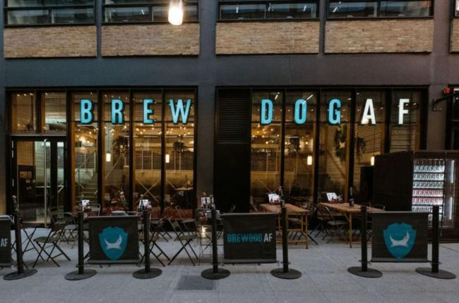 Scottish Brewer BrewDog opens world's first alcohol-free beer bar