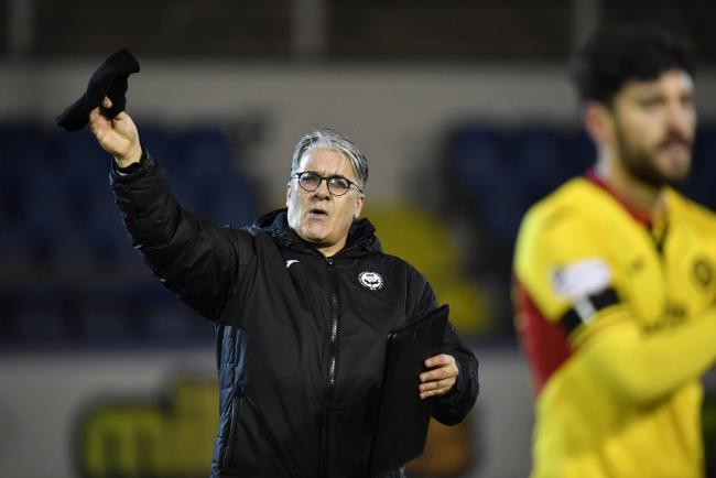 Partick Thistle manager Ian McCall PHOTO: SNS