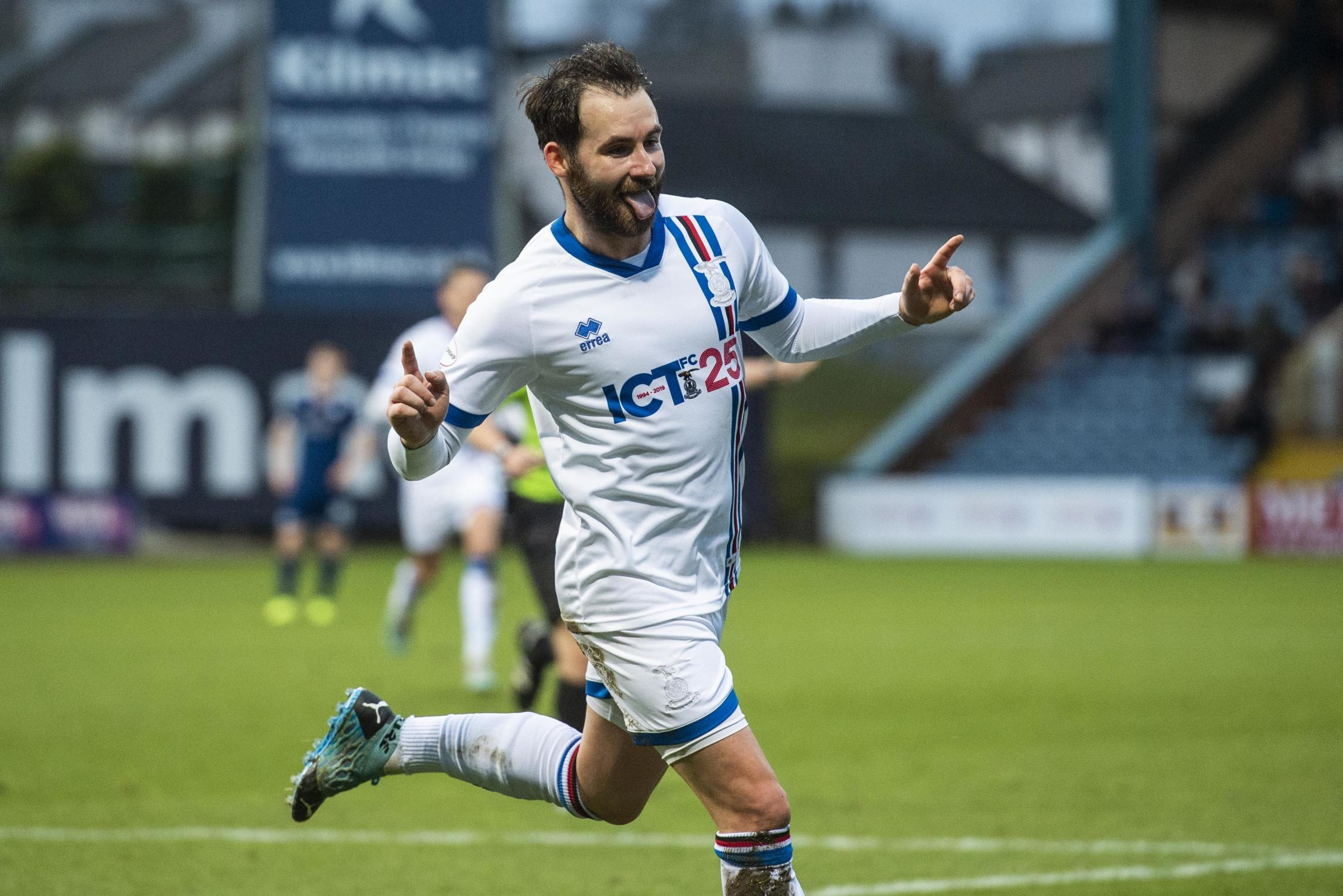 St Mirren could make a January move for striker James Keatings