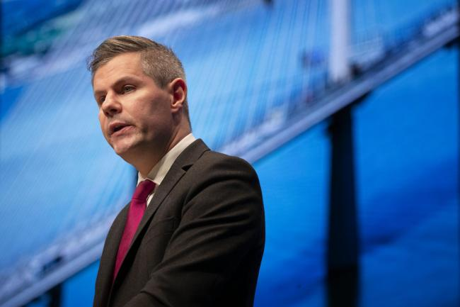 Derek Mackay resigns as finance chief over inappropriate message scandal