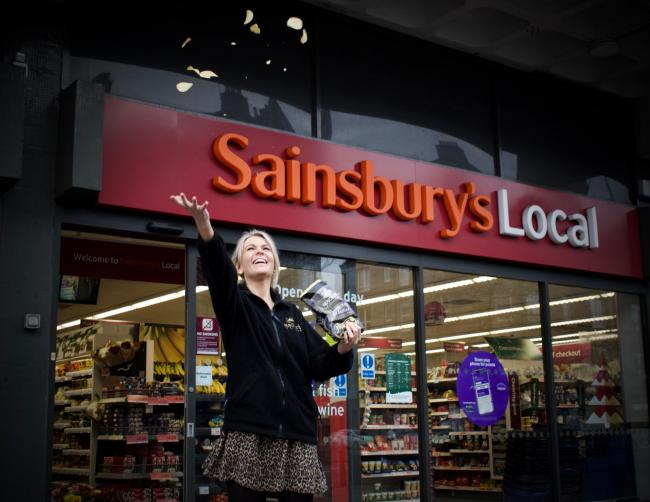 Sally Taylor of Mackie's Crisps, which has secured a listing for a limited run flavour with Sainsbury and other retailers.