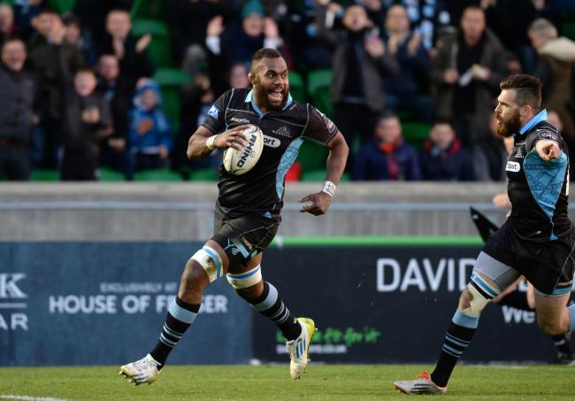 Leone Nakarawa will make his first home appearance since re-signing for Glasgow Warriors