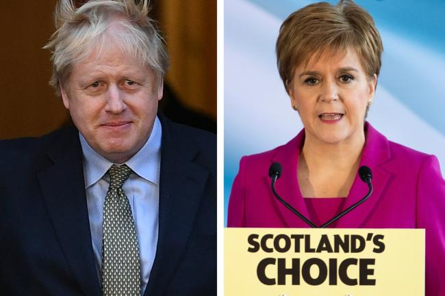 Boris Johnson rejects Nicola Sturgeon's demand for second independence vote