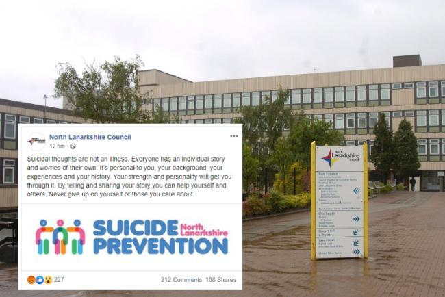 Scottish council forced to apologise over 'suicide is not an illness' post