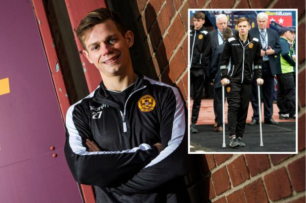 Craig Tanner bids to return to form after horror injury at Motherwell threatened to end career