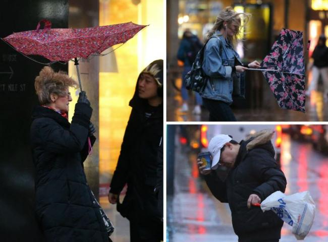 87mph gust recorded as Storm Brendan batters Scotland. Picture: Collin Mearns/Herald and Times