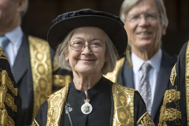 Lady Hale was the only women on a 12-strong bench when the Supreme Court launched in 2009. Picture: PA.