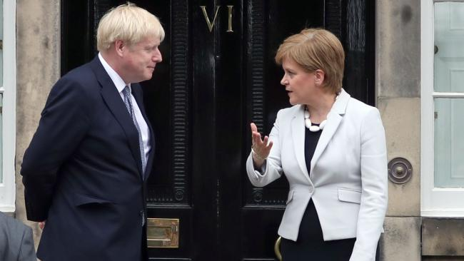 Nicola Sturgeon has criticised a lack of discussion with Boris Johnson ahead of key decisions
