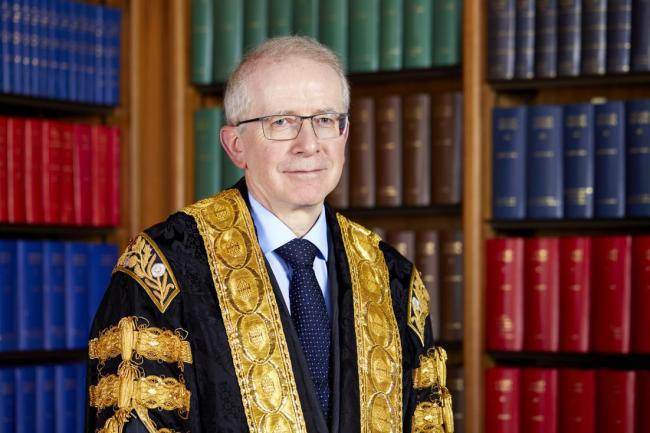 Scottish judge Lord Reed has succeeded Lady Hale as president of the UK Supreme Court. Picture: Supreme Court.