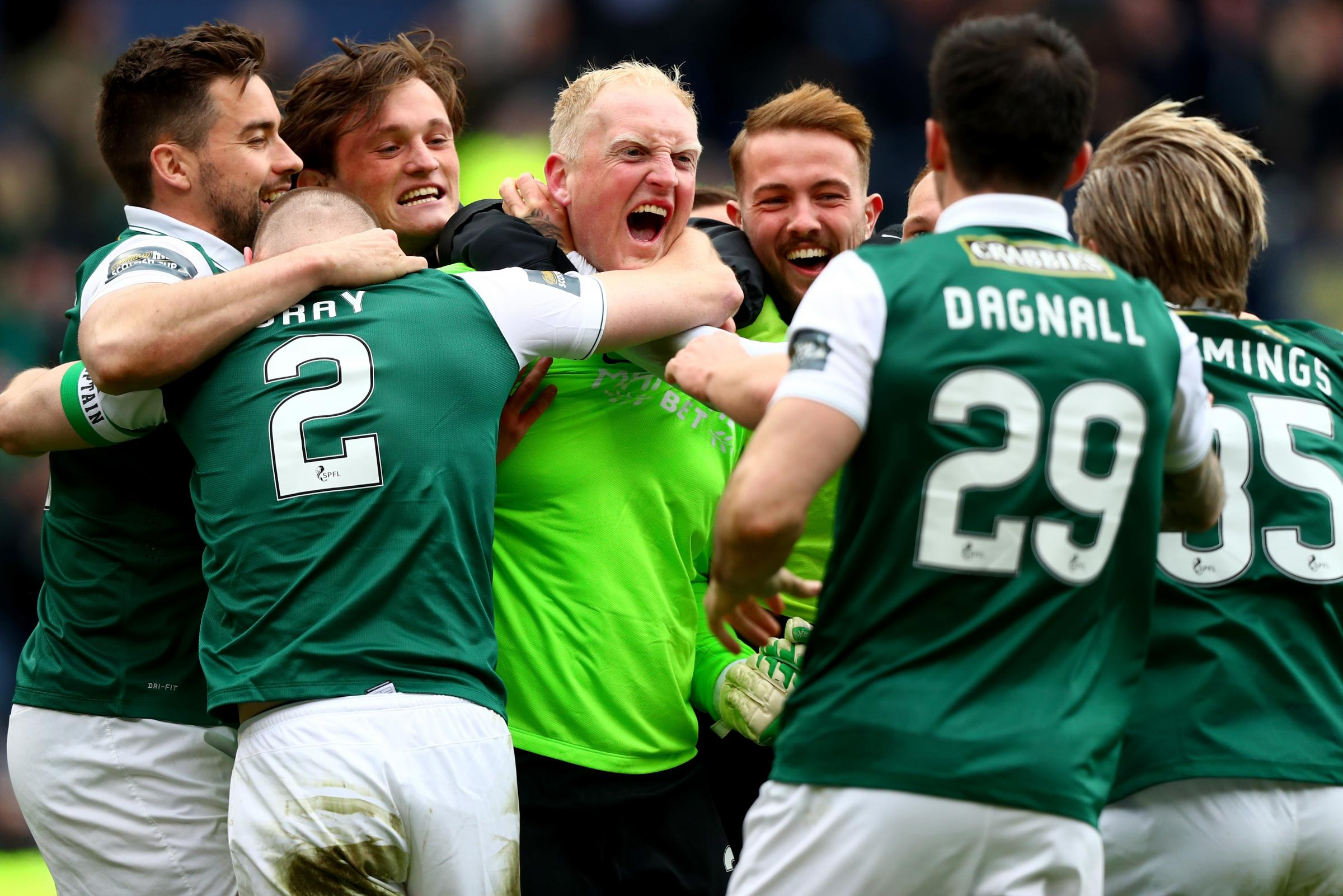 How Hibs saved the Polar Bear: Conrad Logan's story