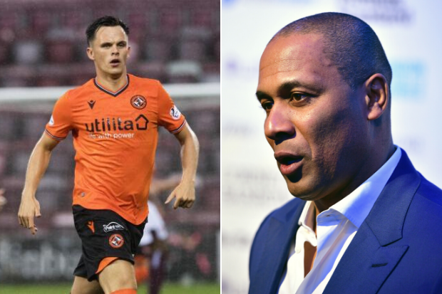 QPR's Les Ferdinand will watch Shankland in person vs Hibs as interest in Jamie Robson hots up