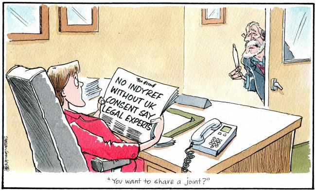Camley's Cartoon round-up: Royal crisis, CalMac latest, Brian Cox and more