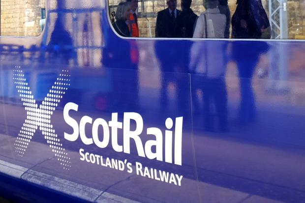 Major delays on Scotrail network due to supply issue at Haymarket - Stirling line closed