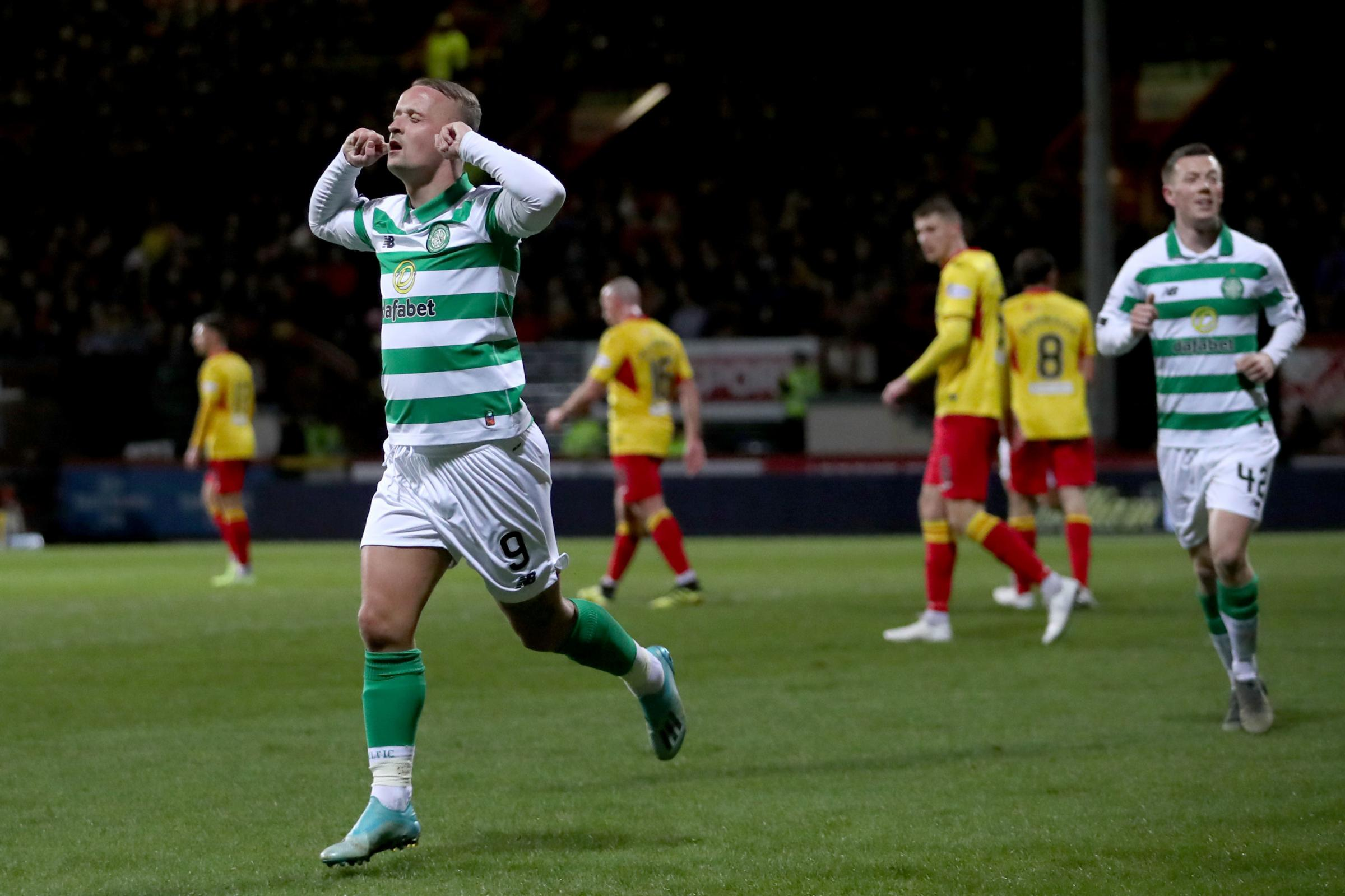 Partick Thistle 1 Celtic 2: Rumours of Griffiths' Celtic demise may be exaggerated as he helps holders through