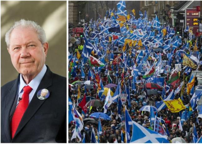 'Stop marching and start thinking' insists former SNP deputy leader Jim Sillars