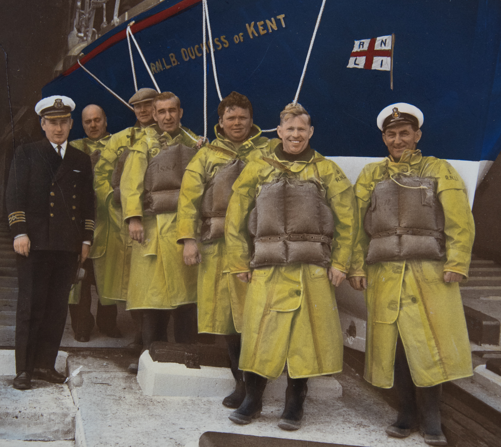 Memorial held for 50th anniversary of lifeboat disaster