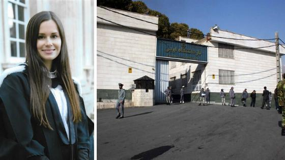 Kylie Moore-Gilbert has said she feels 'abandoned' in the notorious Evin prison in Tehran. (Prison image: Ehsan Iran)