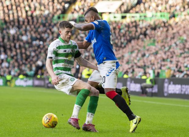 HeraldScotland: Ryan Christie was punished for his grab on Alfredo Morelos