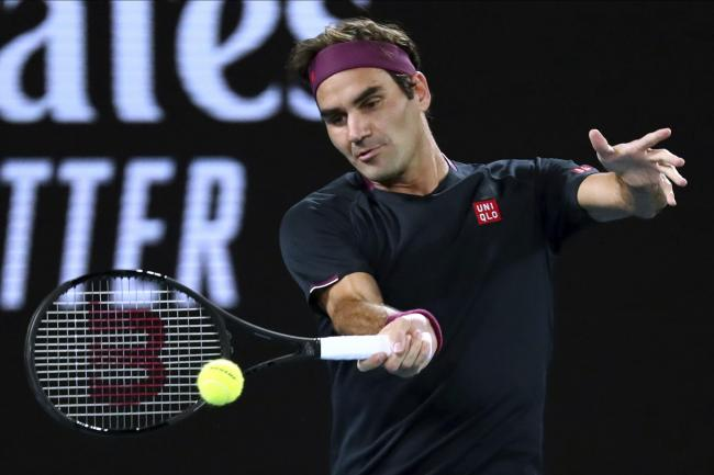 Roger Federer was in complete control against Filip Krajinovic