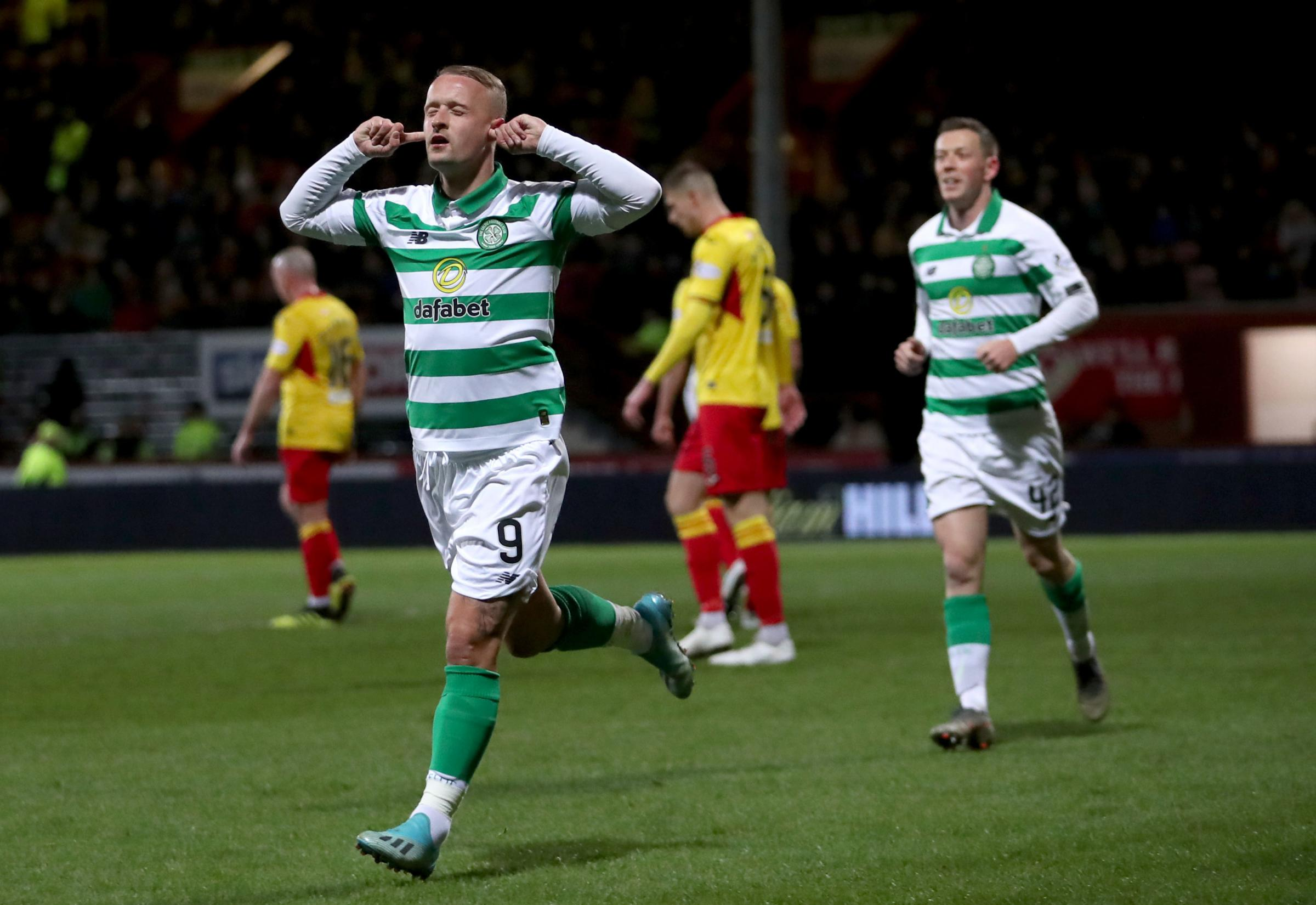Neil Lennon: Griffiths has devilment in him, I'm happy for him to silence critics like Nicholas