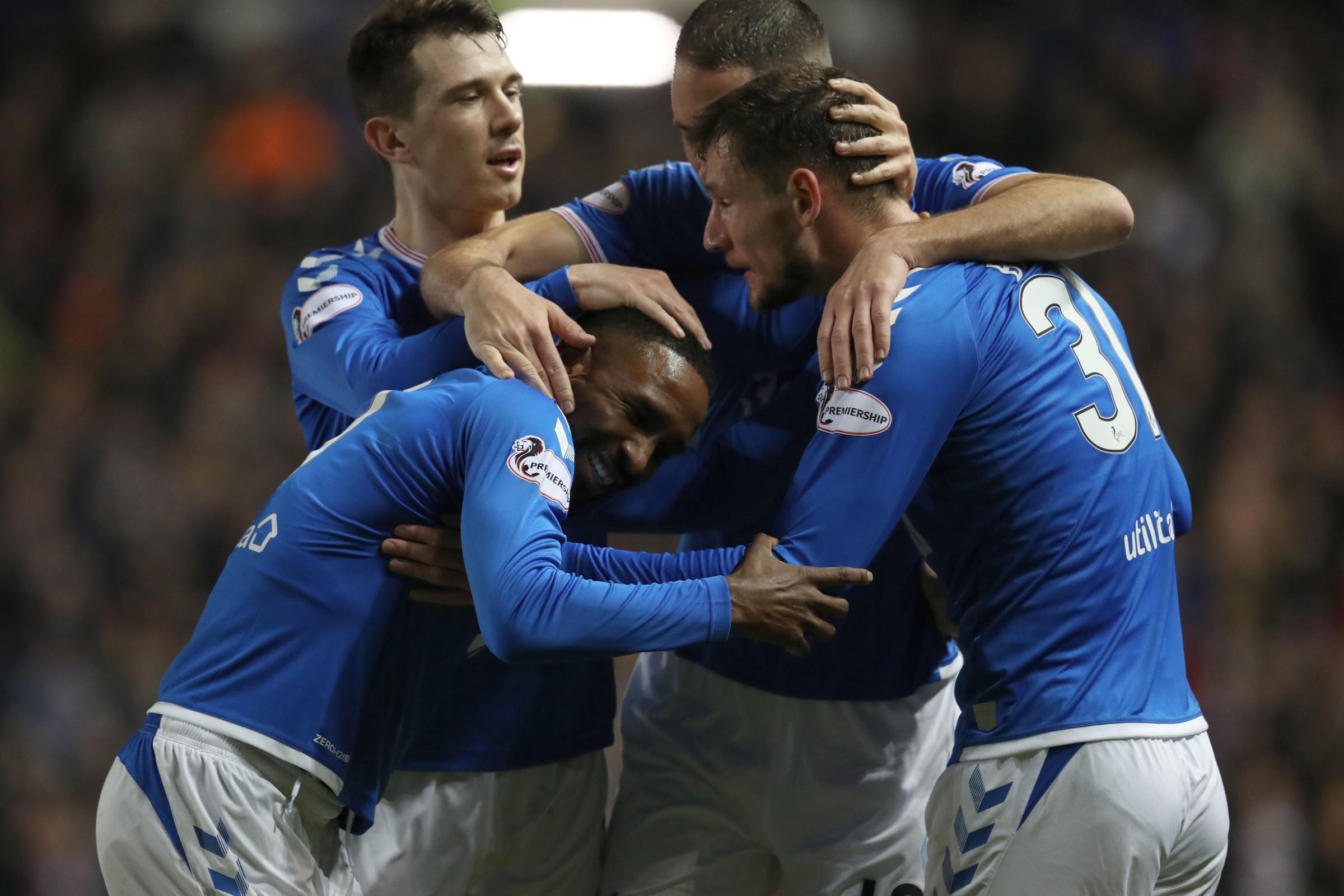 Rangers 1-0 St Mirren: Nervy win keeps Steven Gerrard's side on course in the title race