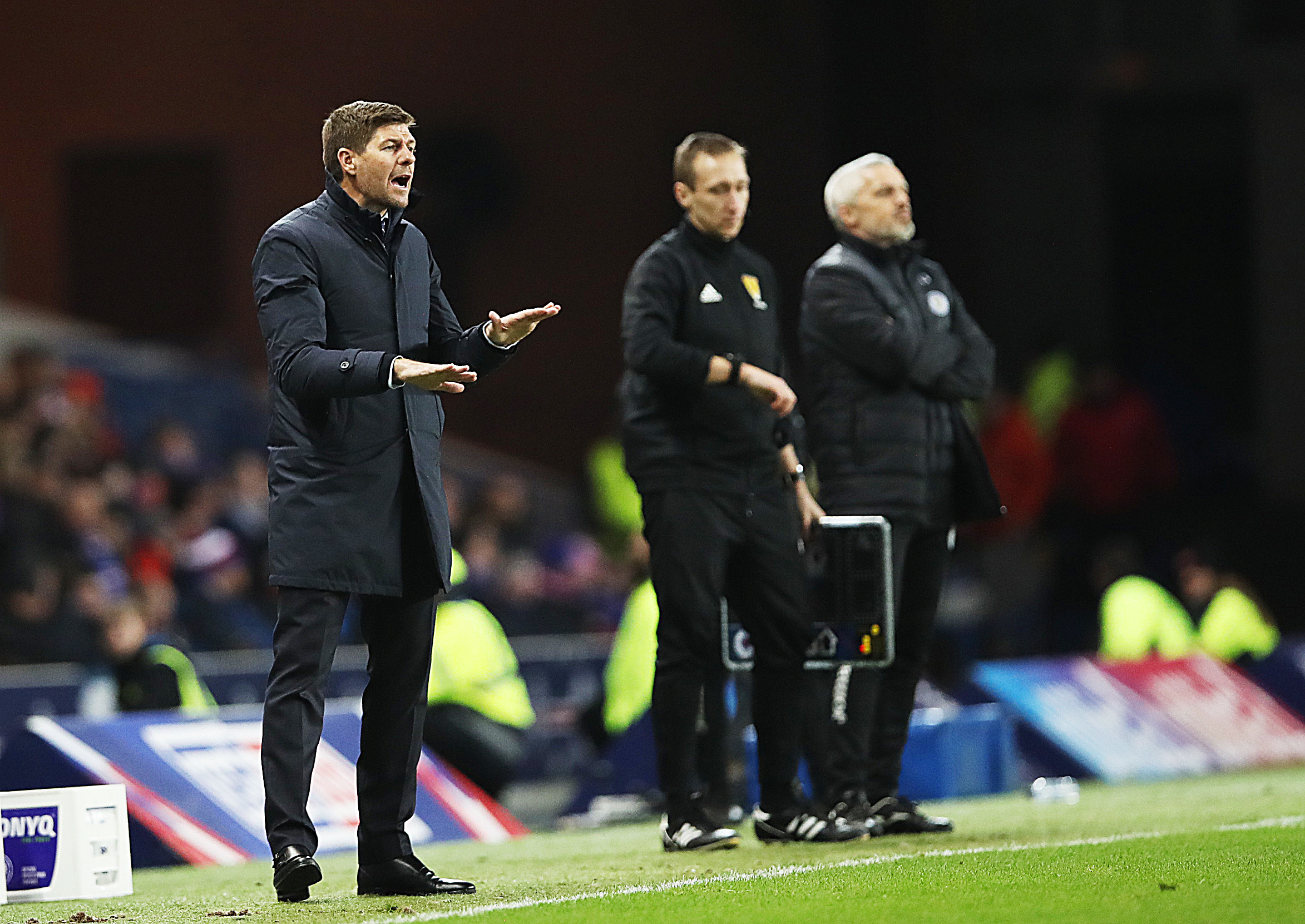 Steven Gerrard 'delighted' for Rangers to win ugly against St Mirren and maintain title push