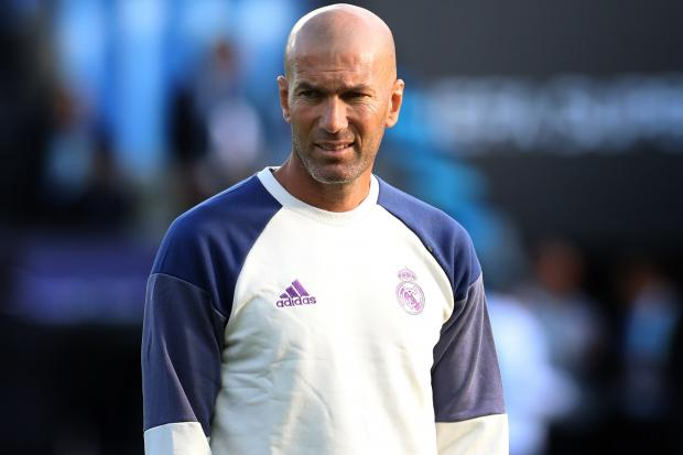 Real Madrid head coach Zinedine Zidane set his sights on the Copa del Rey trophy after 3-1 win over Unionistas