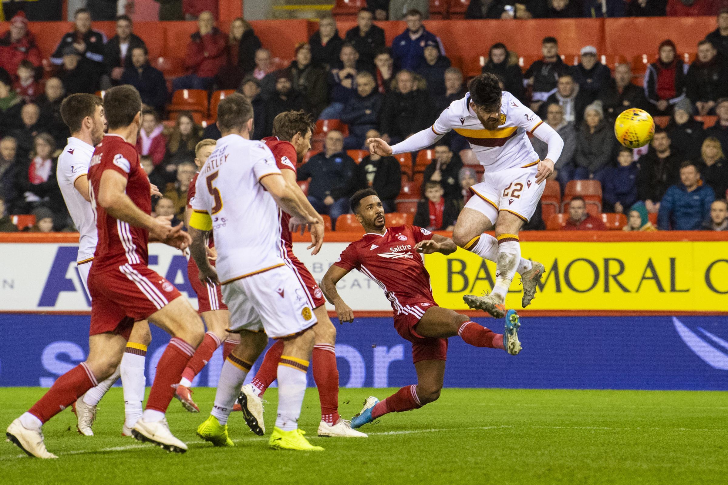 Aberdeen 0, Motherwell 1: Steelmen seal big win in Euro race